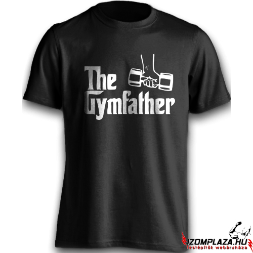 The gymfather (fekete póló)