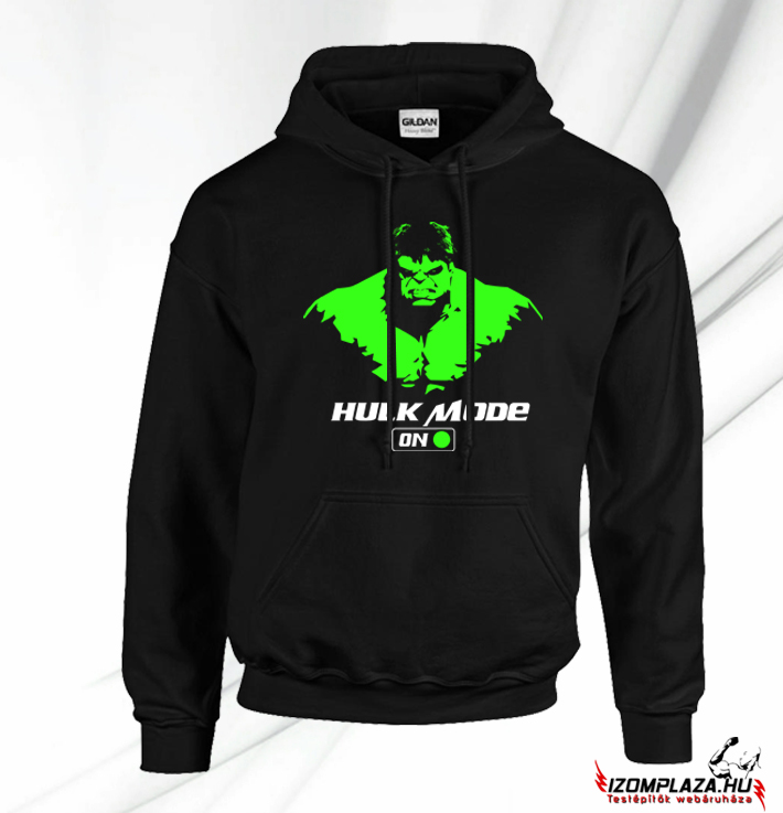 Hulk mode on pulóver (fekete)