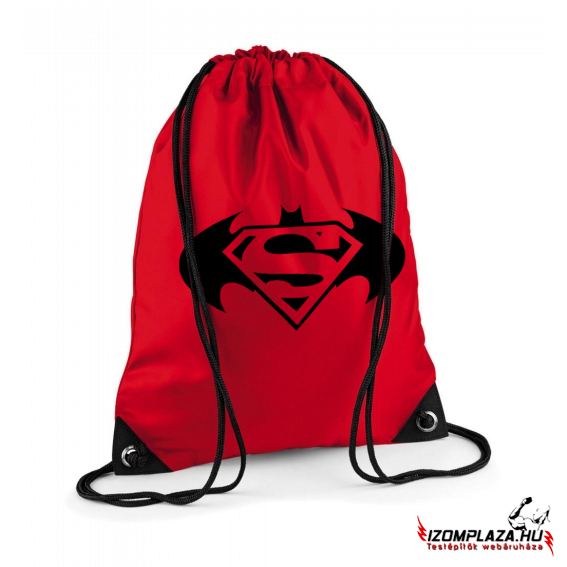 Superman vs. Batman - Gymbag/tornazsák (piros)