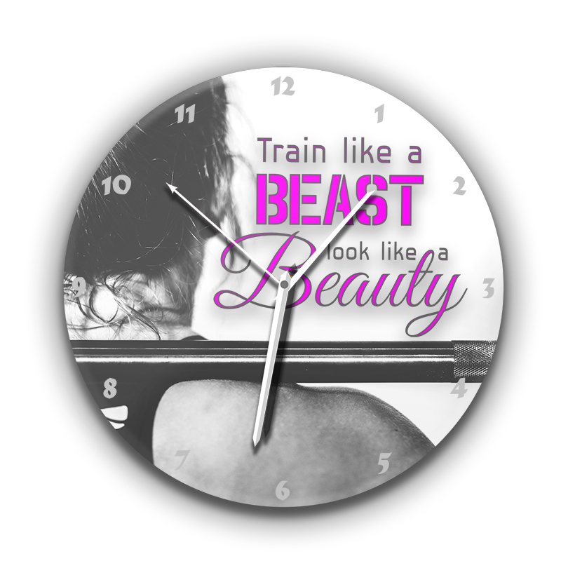 Train like a beast, look like a beauty üveg falióra