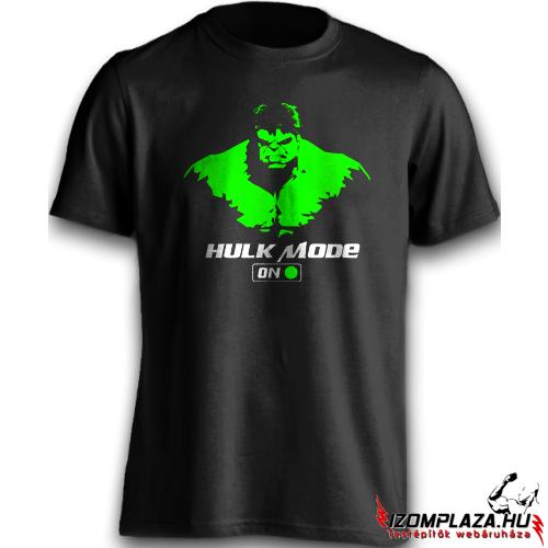 Hulk mode on testépítő póló Táplálékkiegészítő Webáruház