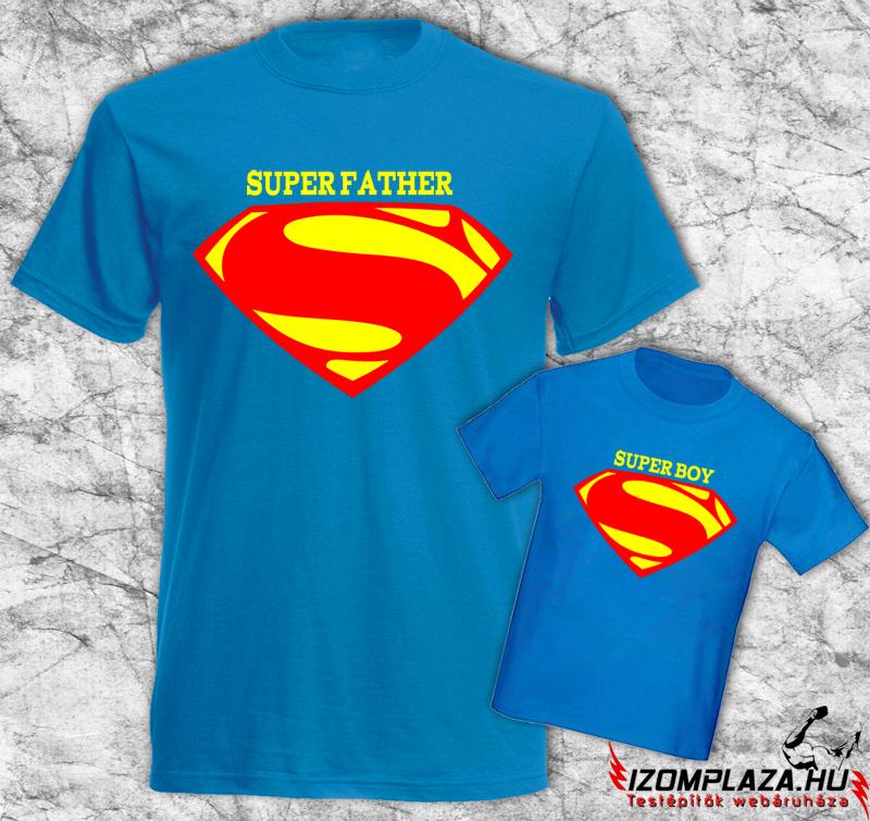 új életmód futócipő minőség Super Father-Super Boy póló -Táplálékkiegészítő Webáruház - Szeged