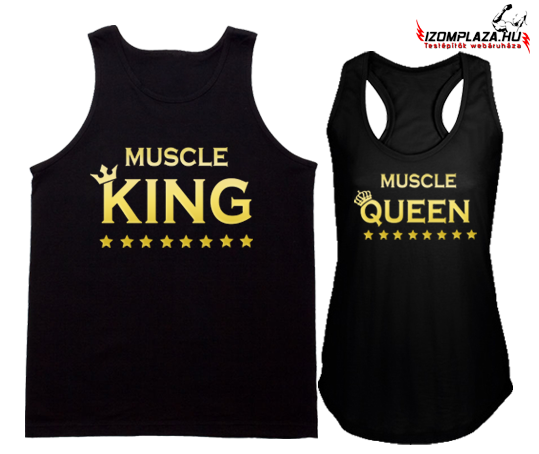 Muscle King - Muscle Queen trikó szett
