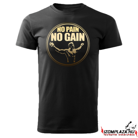 No pain no gain póló-gold