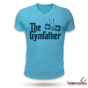 The gymfather V-nyakú póló (kék)