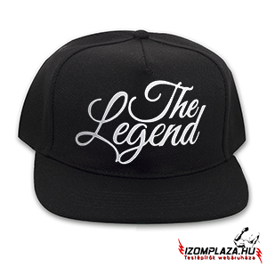 The Legend snapback (fekete)