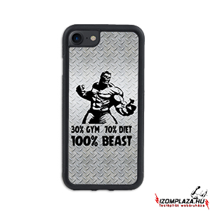 30% gym 70% diet 100% beast - iPhone telefontok