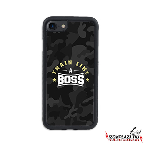 Train like a boss - iPhone telefontok (fekete terep)