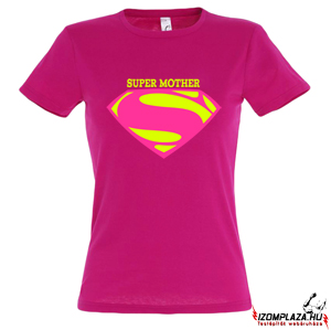 Super Mother női póló (pink)
