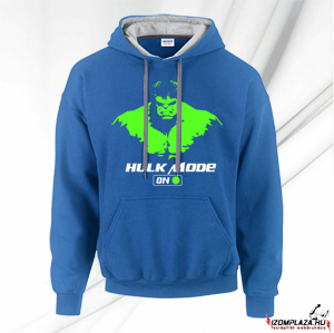 Hulk mode on pulóver (kék)